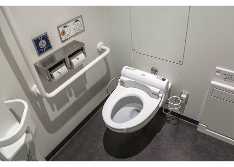 5)上廁所衛生紙,衛生棉怎麼丟?