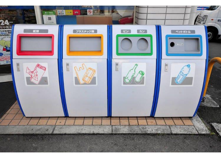 11)日本街道很少看到垃圾桶?