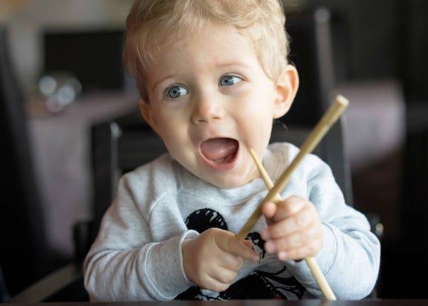 3. Don't Rub Your Chopsticks Together