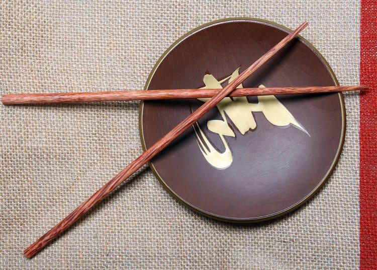 5. Don't Cross Your Chopsticks