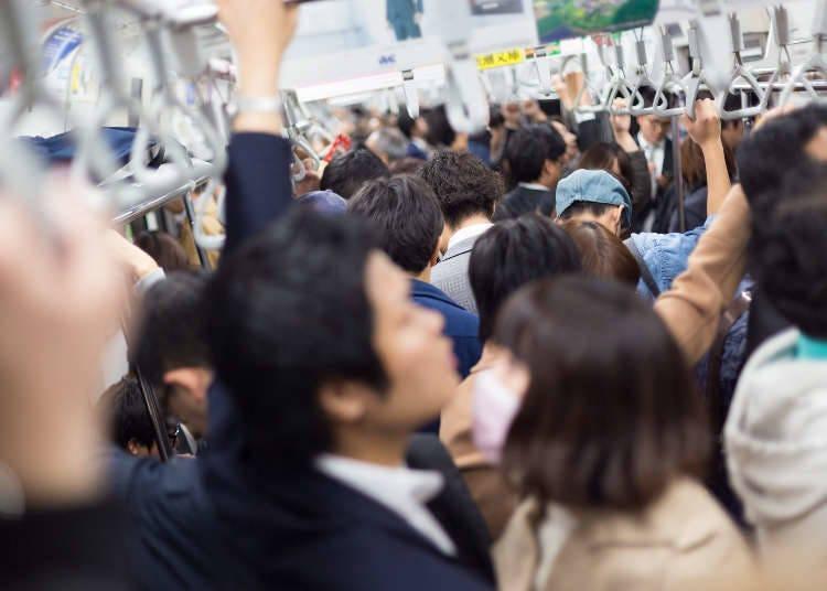 6)在公車或地鐵內,可以講電話或是看會發出聲音的影片或吃東西嗎?