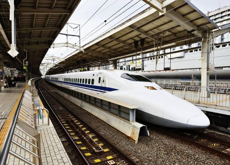 10)日本新幹線有分指定席和自由坐嗎?