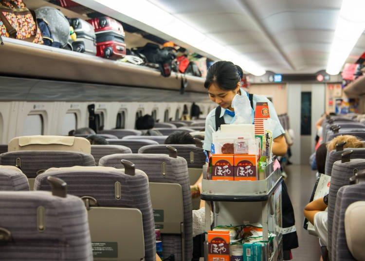 12)新幹線上可以吃東西嗎?
