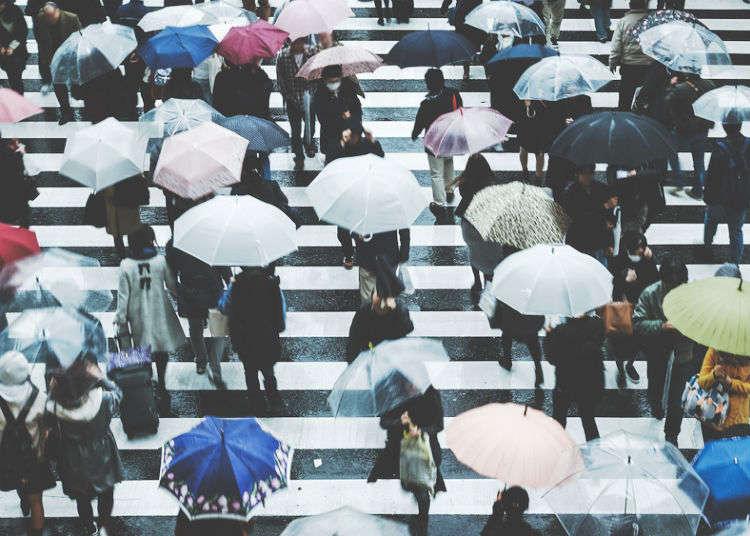 """여름 일본 여행을 준비하고 있다면? """"장마기간과 7,8월 날씨"""" 파악은 필수!"""