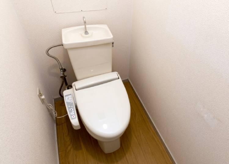 무료사용이 가능한 화장실