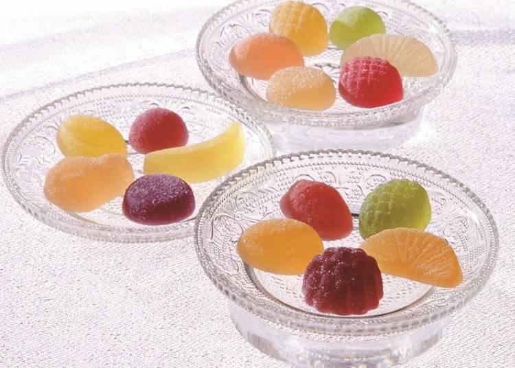 色彩斑斕的16種水果軟糖「鹿鳴館」