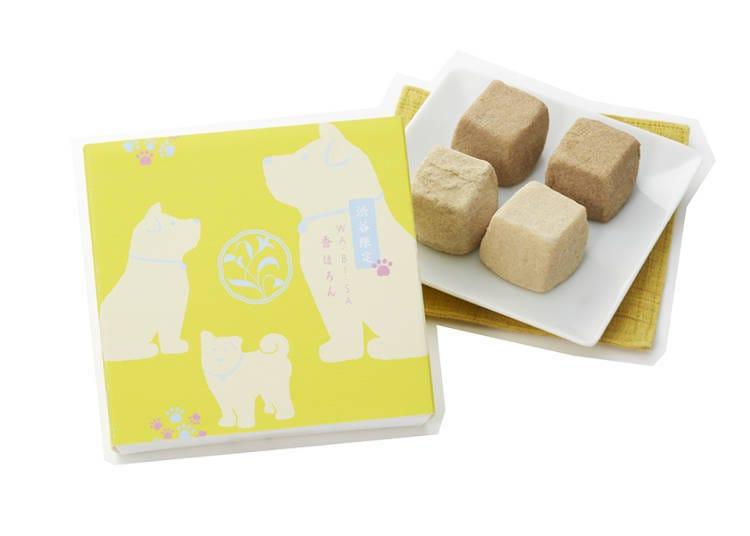 包裝上印有忠犬八公的澀谷限定「KO HORON」