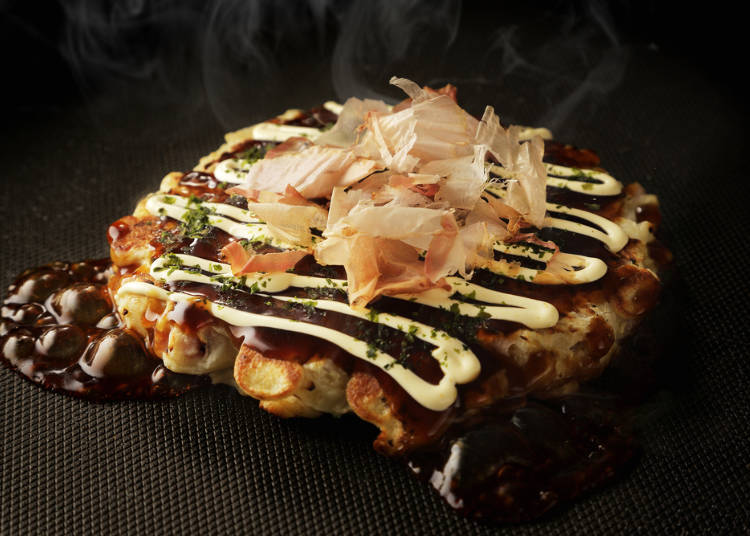 """Piping hot """"Teppan mono"""" is also very popular"""
