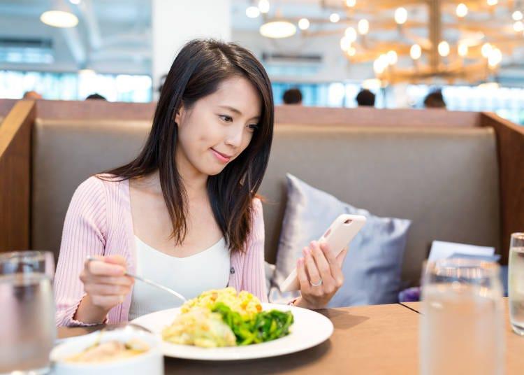 那么外食的女性又都去哪里吃午餐呢?