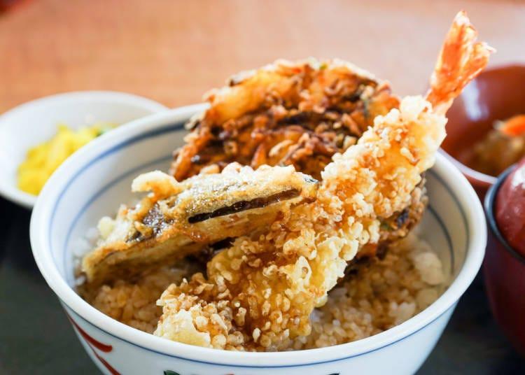 돈부리의 인기가 역시 대단했다. 일본음식의 대표작, 텐동도 등장!