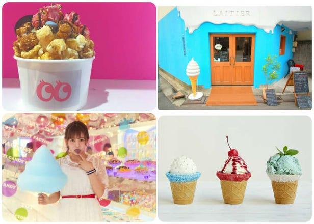 在社交网络上夺目超群!东京6款适合拍照的甜点