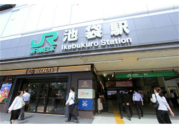 日本自由行池袋車站攻略!記住7大要點輕鬆旅遊不迷路!