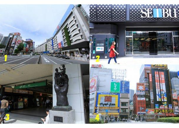 【4】池袋駅東口には何がある?