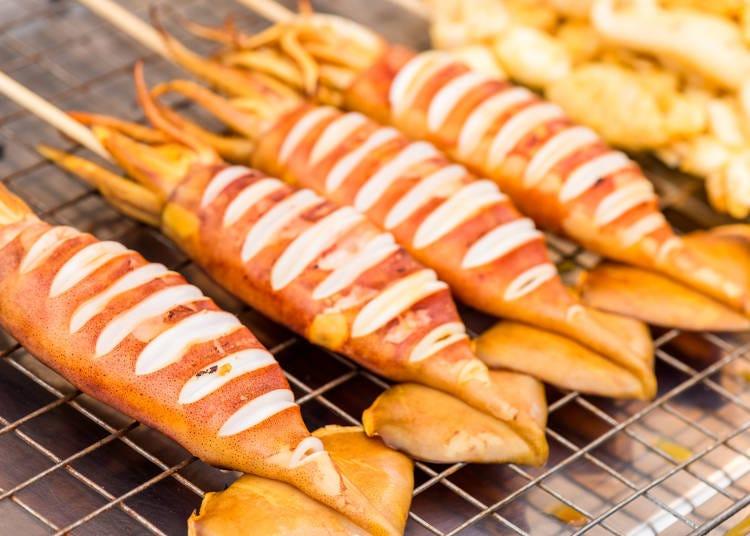 第五名:海鮮燒烤