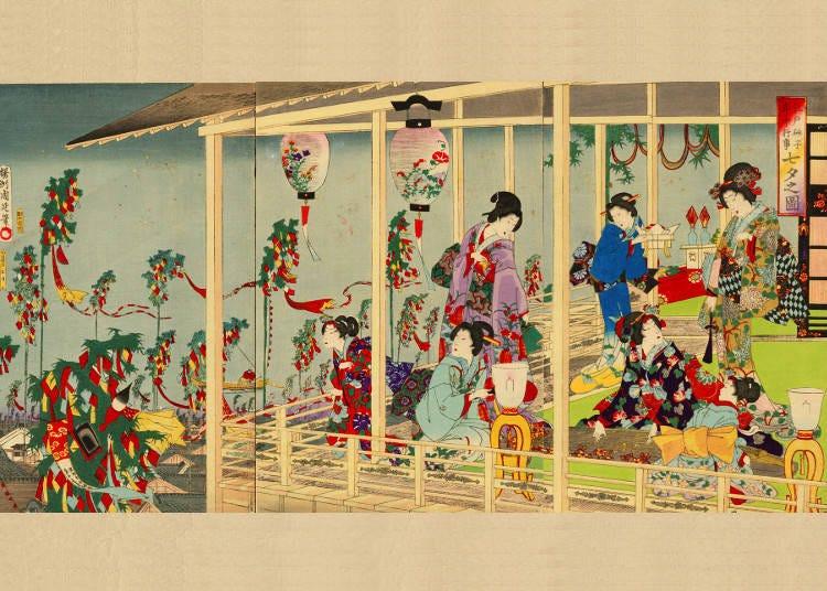 Tanabata Festival's Customs