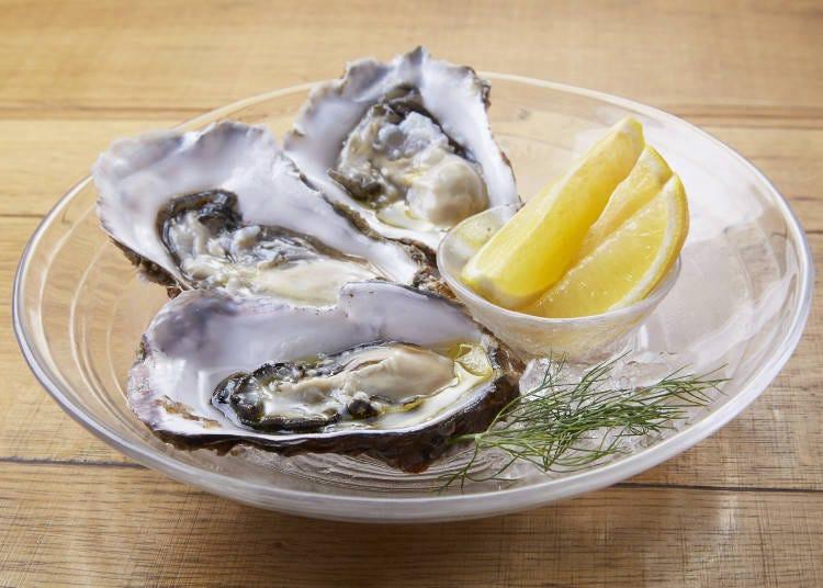 "Must-Tries at Kita no Kuni Bar: ""Maruemon"" Oysters and the ""Hokkaido Meat Plate"""