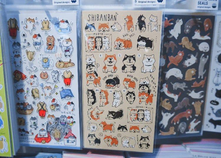 日本柴犬貼紙