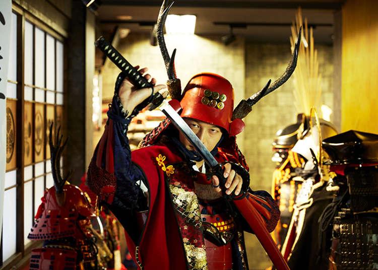 【武将に変身】戦国居酒屋で舌つづみ!外国人もよろこぶ新宿サムライ体験   東京執事物語