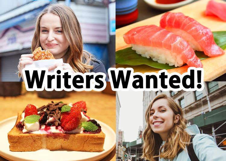 English Writers Wanted! (Live Japan Freelance Jobs / Careers)