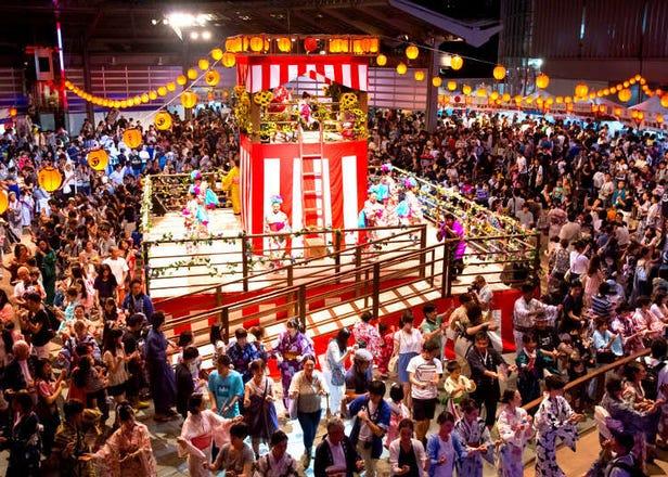 2017년 도쿄, 요코하마의 본오도리(봉오도리)대회
