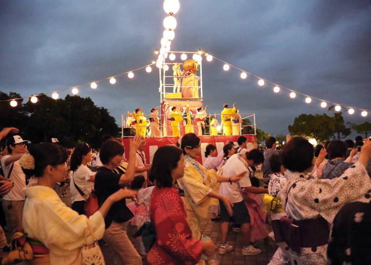 Minato Mirai Bon Odori 2019 (August 16-17, 4:30PM - 8:30PM)