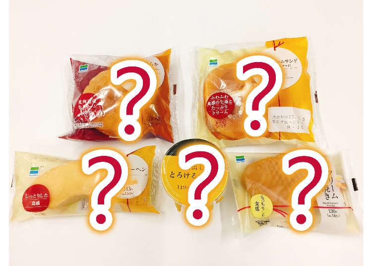 日本便利商店FAMILYMART(全家)上半年度前五大畅销甜点