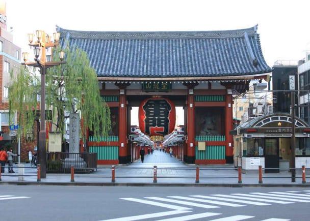 「浅草车站」特色与周边饭店清单