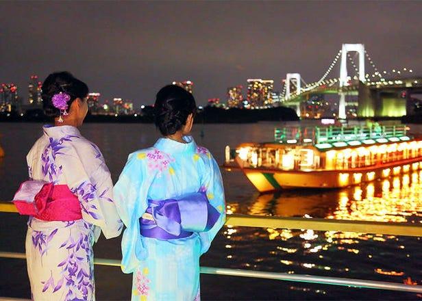 야카타부네 뱃놀이의 시즌이 다가오고 있다! 도쿄자유여행코스에 추천!