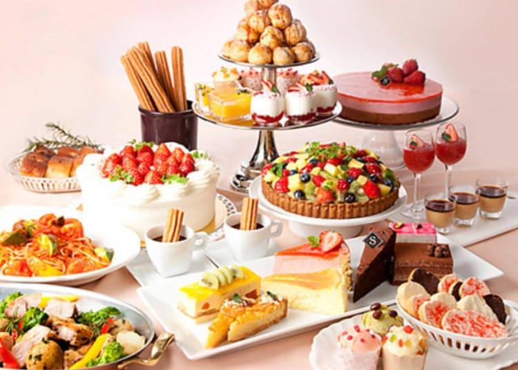[Oshiage] 2. Salon de Sweets: Tea Party Atmosphere and Dozens of Desserts!