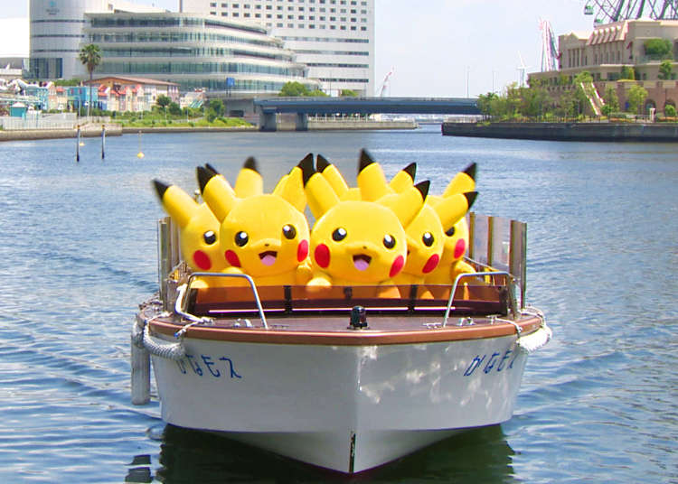 Splashy Fun at the 2017 Pikachu Outbreak in Yokohama!