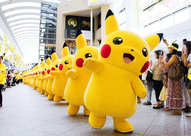 Splashy Fun at the 2017 Pikachu Outbreak in Yokohama! - LIVE