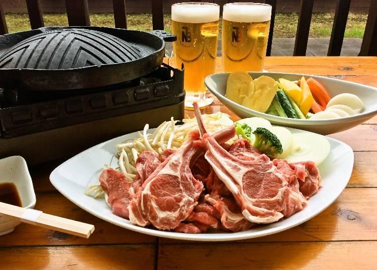 「小田急百貨店新宿店」本場北海道の生ビールとラムジンギスカンが楽しめるビアガーデン