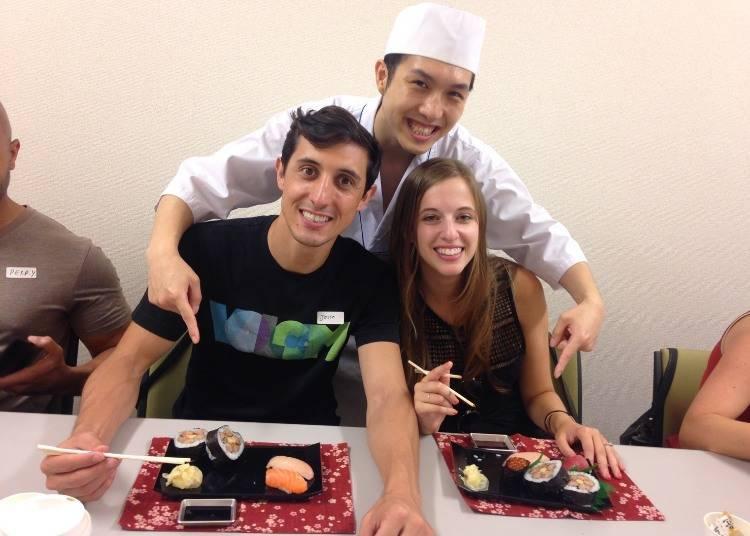 自己握的壽司更好吃!手作壽司體驗教室「Tokyo Sushi-Making Tour」