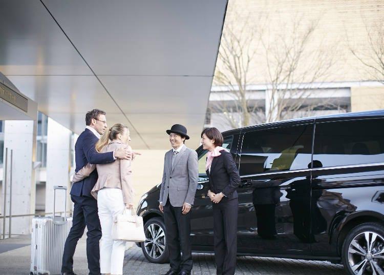 東京觀光導覽禮賓服務「Japan Limousine Service」