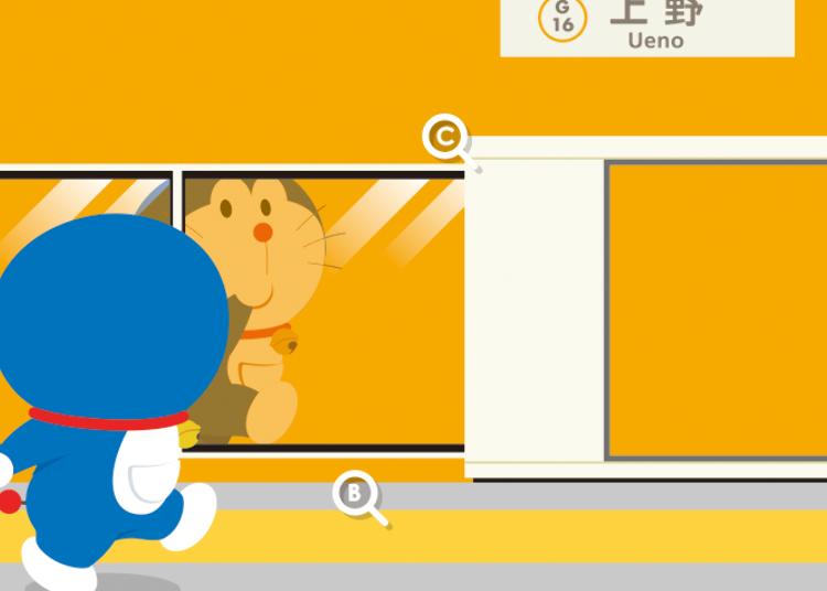 Is Doraemon's Anywhere Door Actually the Platform Doors?