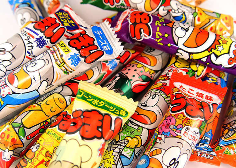 Tasting Umaibo Flavors – The Insanely Popular Junk Food Snack in Japan!