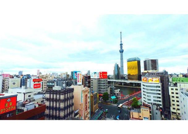 只要3000日圓有美食又有景!盡情樂享淺草、晴空塔的黃金路線