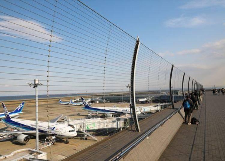 羽田機場第二航廈展望台