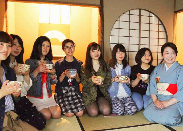 【レポート】銀座のど真ん中で、本格的な茶道体験!