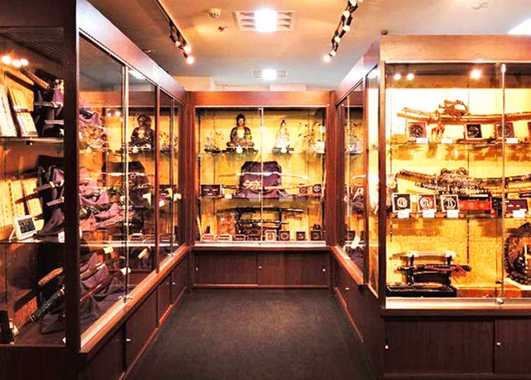 Seiyudo Ginza: Understanding the Katana, Japan's Ancient Sword, at a Sword Specialty Store