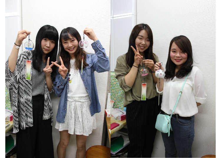 【报告】日本夏天的风物诗、体验亲手制作「江户风铃」!