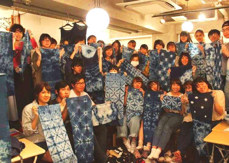 Aizome at Wanariya: Japan's Ancient Art of Indigo Dyeing