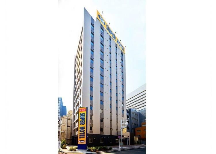 5. Super Hotel: Quiet rooms, relaxing atmosphere