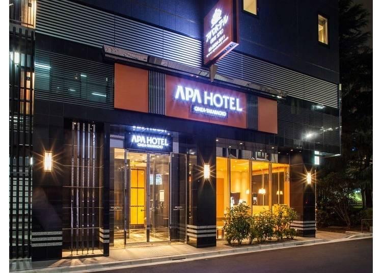 日本最大連鎖飯店 新穎西式裝潢「APA HOTEL」