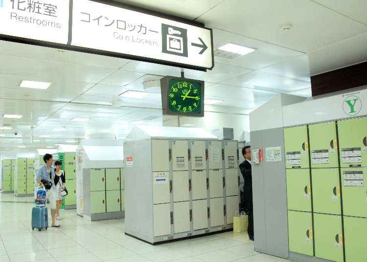 Japan Hands-Free Tourism: Where to Find Coin Lockers in Tokyo?