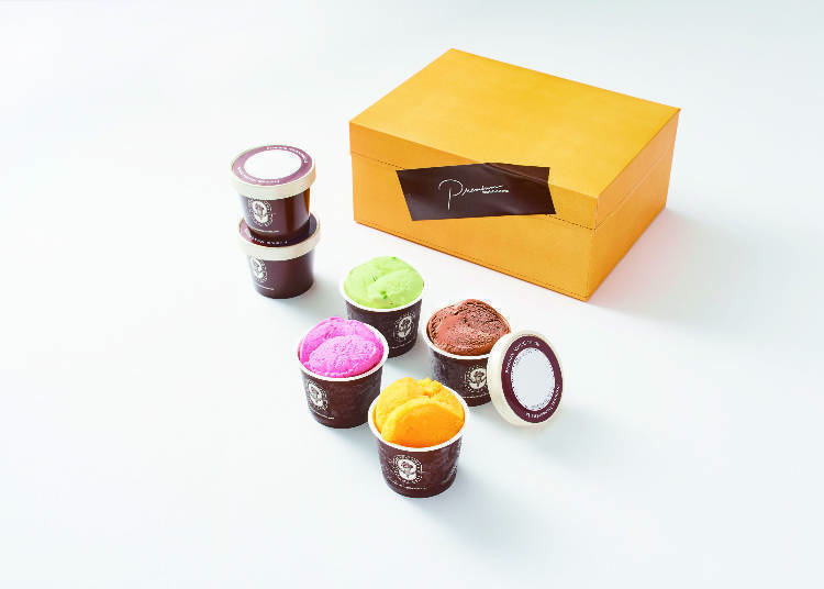 [Shinjuku Isetan] Tokyo's Best Italian Ice Cream in a Box of 6 Flavors at Mario Gelateria