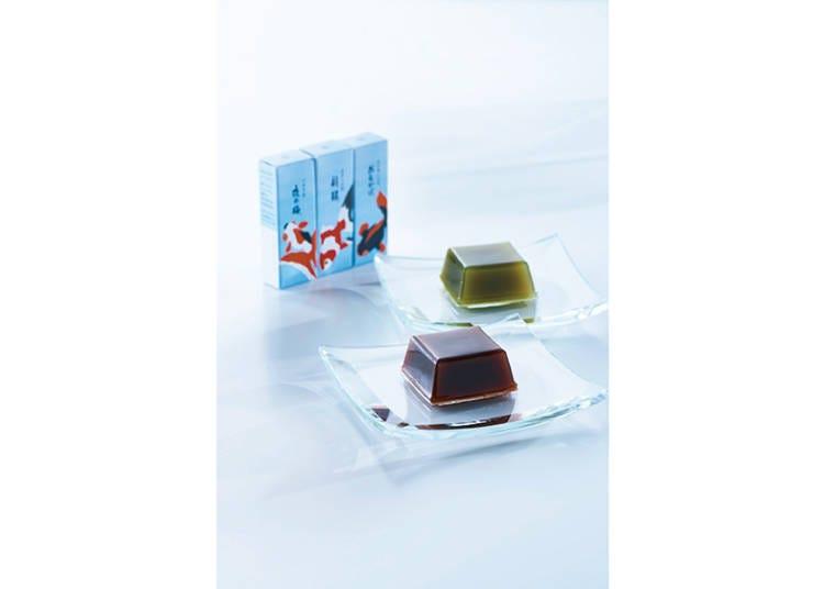 【とらや】金魚柄に癒やされたい 「夏パッケージ 小型羊羹」/伊勢丹新宿
