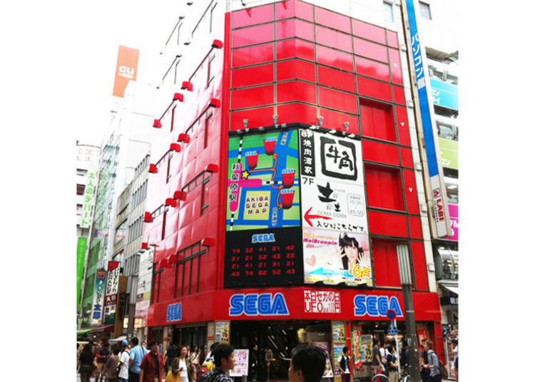 Retro Games in Japan - Club Sega Akihabara Building No. 4: The Fusion of Classics and Novelties