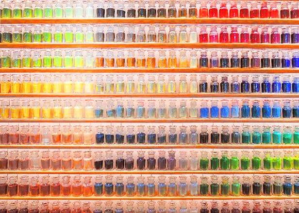 在向世界展示传统绘画材料魅力的'PIGMENT'制作颜料!畫材實驗室