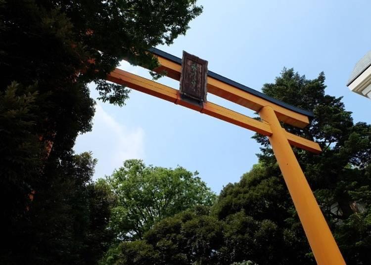 日本的月老廟 川越冰川神社